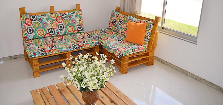 Como fazer um sofá de pallets | Foxlux